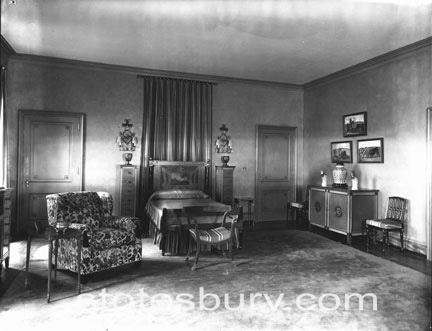 E.T. Stotesbury bedroom at El Mirasol