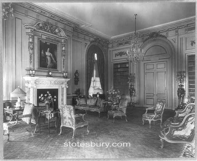 Lady Elizabeth Conyngham in the Drawing Room at Whitemarsh Hall