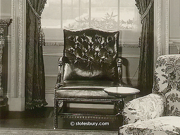 Chippendale Chair in the Sitting Room
