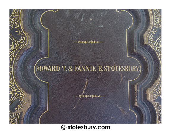 Stotesbury Family Bible